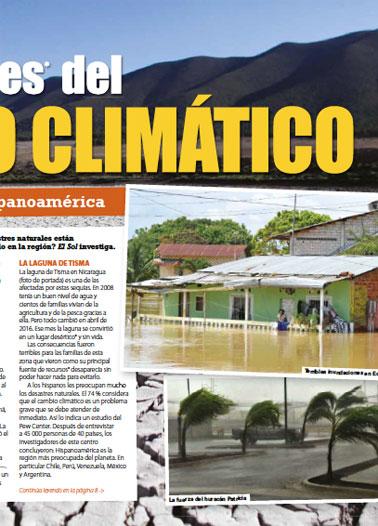 Las cicatrices del cambio climático